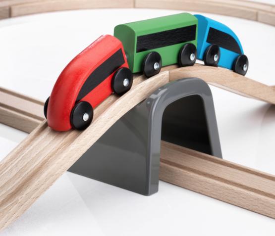 Деревянная железная дорога IKEA — LILLABO